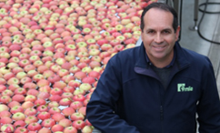 Novel fungicide chemistry in apples